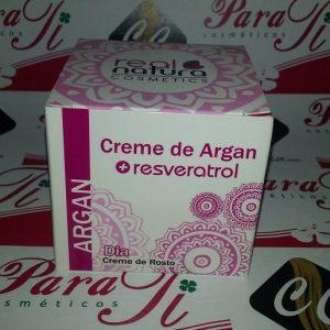 Creme de Argan +Resveratrol 50gr Real Natura