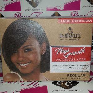 Dr.Miracle No-Lye Relaxer Kit Desfrizante
