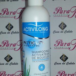Activilong Acticurl Organic Aloe e Plant Glycerine Curl Activator Shampoo