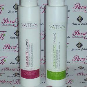 Shampoo Calmante 400ml Nativa do Brasil