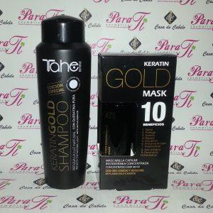 Kit Tahe Keratin Gold (Sh.300ml + Mask)
