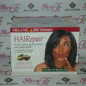 Relax with confidence! HaiRepair ™ Relaxer System with Cuticle Shield™ Protective Pre-treatment