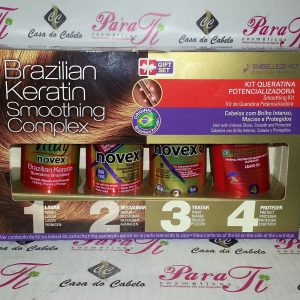 Brazilian Keratin Smoothing Complex (Kit Queratina Potencializadora) Embelleze