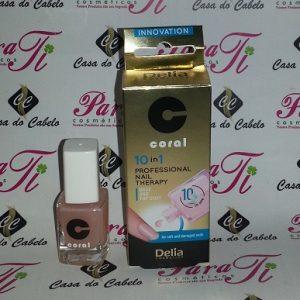 Top Coat 10 IN 1 Professional Nail Therapy Délia Cosmétics