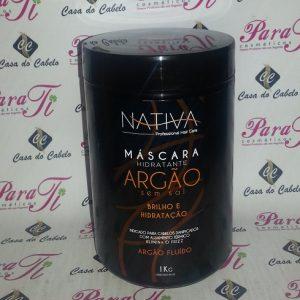Máscara s/ Sal Argan 1Kg Nativa do Brasil