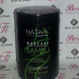 Máscara S/Sal Bambu 1Kg Nativa do Brasil