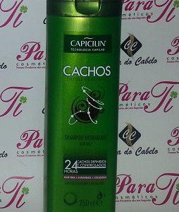 Shampoo s/Sal Cachos 250ml Capicilin