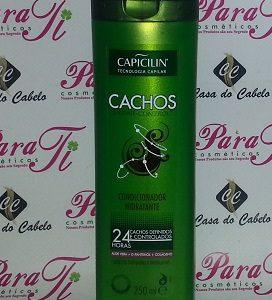 Condicionador s/Sal Cachos 250ml Capicilin