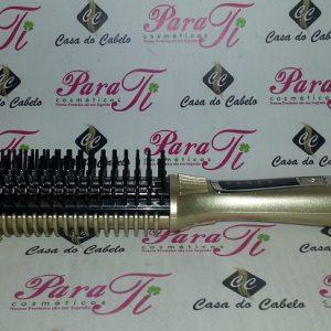 Escova Alisadora Elétrica 39W (até 200º) Ricki Parodi Happy Hair Eletric Brushing