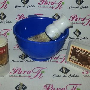 Kit Barba 3 Casa do Cabelo (Sabão +Pedra Humus+Pincel+Taça)