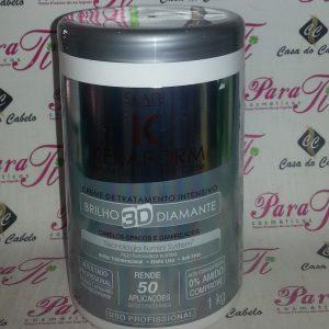 Máscara Brilho 3D Diamante Keraform 1Kg Skafe