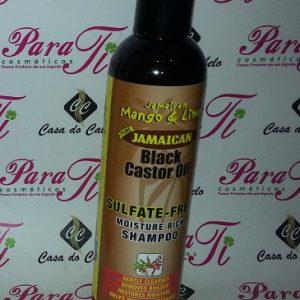 Shampoo Black Castor Oil Jamaican Mango e Lime 237ml (Óleo de Ricino)