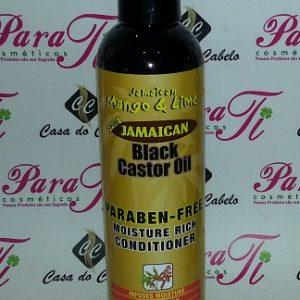 Cond.Black Castor Oil Jamaican Mango & Lime (Óleo de Ricino)