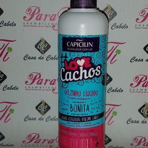 Gelzinho Liquido Love Cachos 300ml Capicilin
