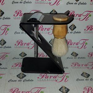 Kit Barba 13 Casa do Cabelo (Suporte Acírilico+Pincel+Maquina)