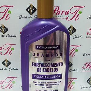 Desamarelador Shampoo  430ml Gota Dourada