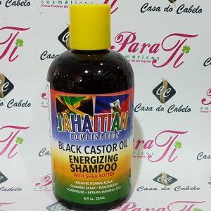 Jahaitian Combination Black Castor Oil Energinzing Shampoo 237ml