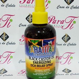 Jahaitian Combination Black Castor Oil Energinzing Itch Relief Spray 237ml