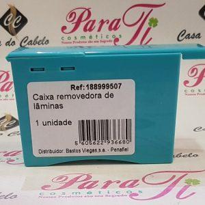 CAIXA REMOVEDORA DE LÂMINAS