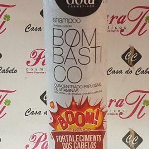 Shampoo Bombastico 300ml Gota Dourada