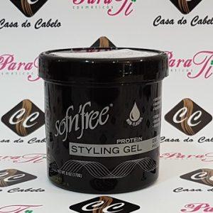 Sofn´Free Protein Styling Gel Black 170gr