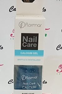 Flormar Nail Care Calcium Gel Brittle & Devitalized Calcio Gel 11ml Flormar (Calcium Gel)