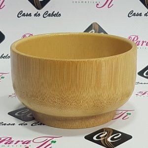 Taça p/ Espuma de Barbear em Madeira de Bamboo