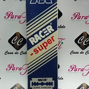 Laminas Racer Super Stainless (Bloco c/200 lâminas)