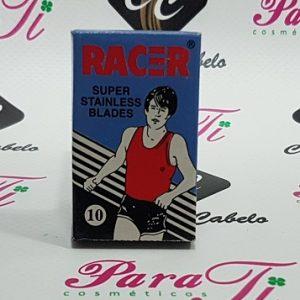 Laminas Racer Super Stainless (Caixa c/10 lâminas)