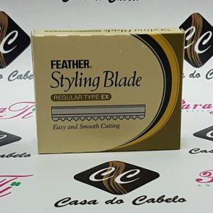 Feather Styling Blade - Regular Type EX (Cx  c/10 lâminas)