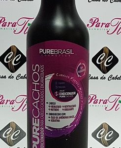 Condicionador Pure Cachos 500ml Pure Brasil