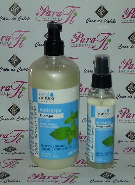 Anti-Caspa Shampoo 500ml Real Natura