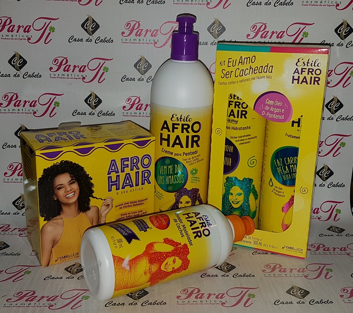 Afro Hair Creme para Pentear 500g Embelleze