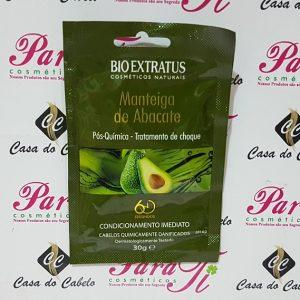 Tratamento de Choque Manteiga de Abacate Pós-Quimica 30gr pH 4,0 Bioextratus