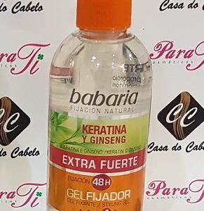 Gel Extra-Forte c/ Keratina e Ginseng 300ml Babaria
