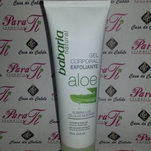 Gel Corpo Exfoliante c/ Aloe 250ml Babaria