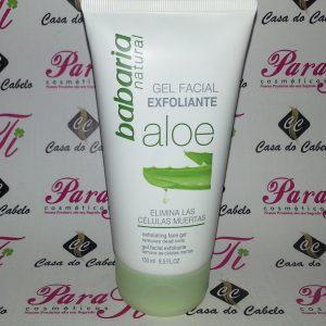 Gel Facial Exfoliante c/ Aloe 150ml Babaria