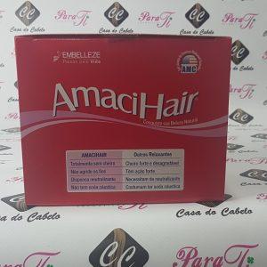 Amacihair Creme Relaxante com Oleo Argan Kit Embelleze