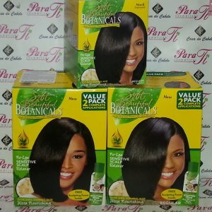 Botanical With Natural Plant Oils And Buters No-Lye Sensitive Scalp Soft e Beautiful (Value 2 Pack)