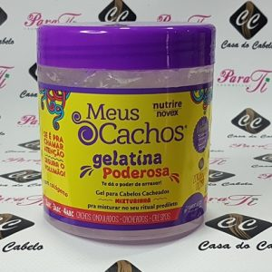 Meus Cachos Gelatina Poderosa 500gr Novex (DESCONTINUADA)