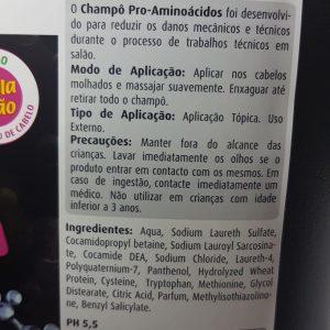 Shampoo PRÓ-AMINOÁCIDOS 5Litro Real Natura (Calha) Ph5.0