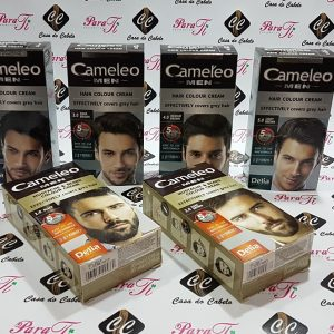 Camaleo Men Hair Colour Cream (Tinta Sem Amônia/Sem Parabenos)
