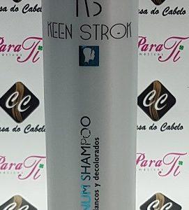 Desmarelador Platinum Shampoo 500ml Keen Strok - Incospel