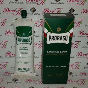 Sabão de Barbear Tubo 500ml Proraso (Gama Verde)
