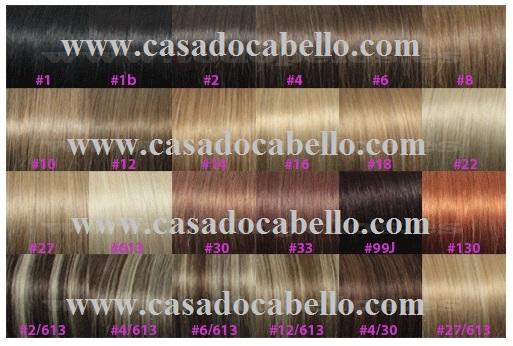 Extensões Keratina 50cms) - LISAS (10unds)