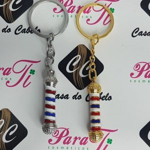 Porta-Chaves Barber Pole (4,5Cm)