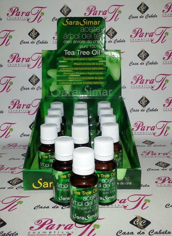 Tea Tree Oil (Óleo da Árvore do Chá) 15ml Sara Simar (9+3)