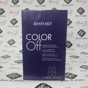 COLOR OFF - Corrector de Coloração 2x100ml - Risfort