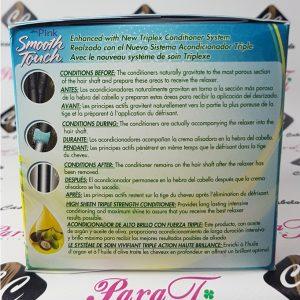 Pink Conditioning No-Lye Relaxer Luste´r ( 1 Aplicação ou 2 Retoques)